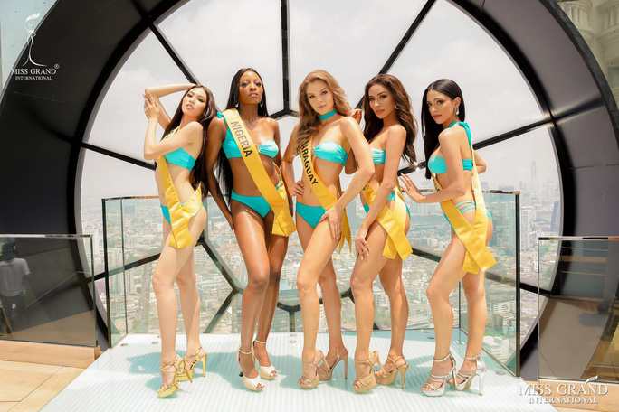 Hấp dẫn nhan sắc Hoa hậu Hòa Bình Thế giới 2020 diện bikini - Ảnh 4.