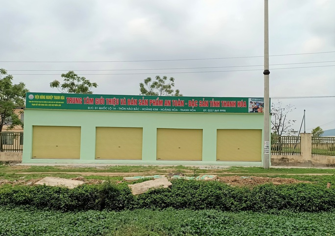 Trung tâm nông nghiệp 17 tỉ đồng ở Thanh Hóa xây xong để làm... cảnh - Ảnh 20.