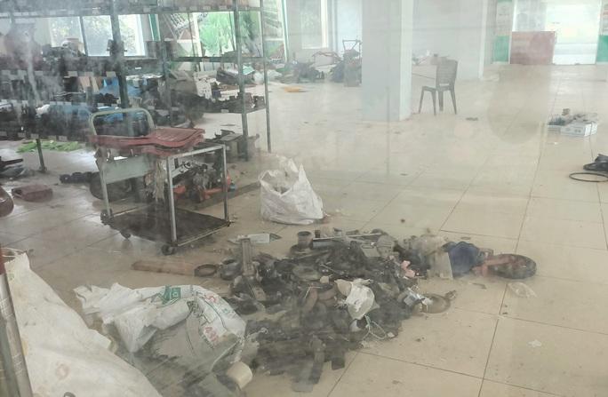 Trung tâm nông nghiệp 17 tỉ đồng ở Thanh Hóa xây xong để làm... cảnh - Ảnh 8.