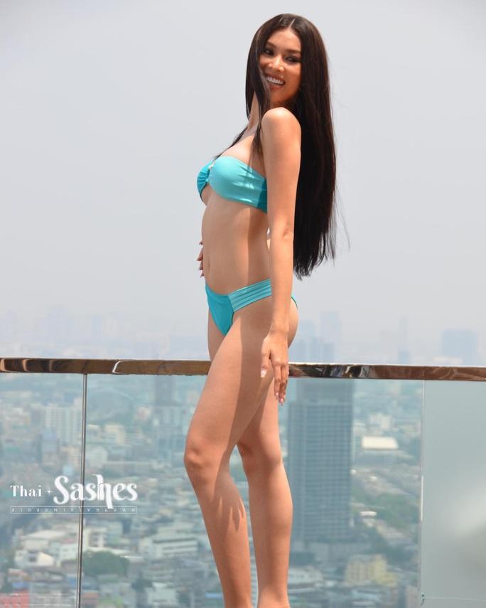 Hấp dẫn nhan sắc Hoa hậu Hòa Bình Thế giới 2020 diện bikini - Ảnh 9.