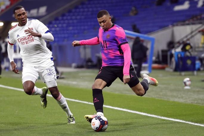 Mbappe lập cú đúp, PSG đả bại kình địch, chiếm ngôi đầu Ligue 1 - Ảnh 5.