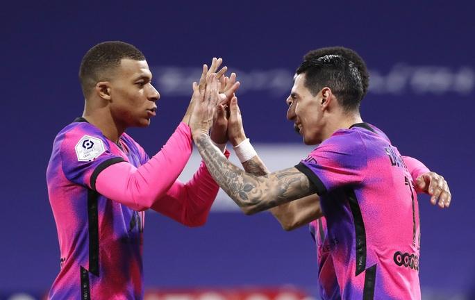 Mbappe lập cú đúp, PSG đả bại kình địch, chiếm ngôi đầu Ligue 1 - Ảnh 6.