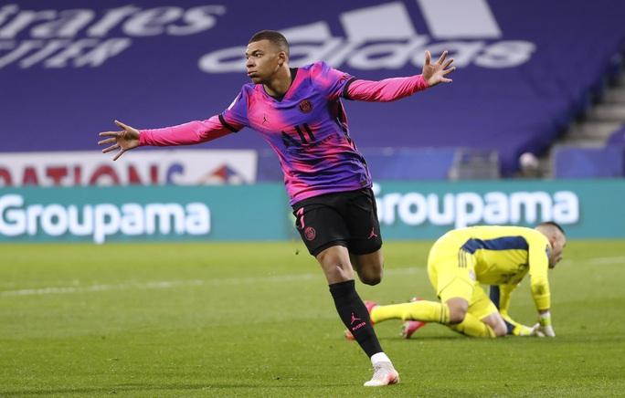 Mbappe lập cú đúp, PSG đả bại kình địch, chiếm ngôi đầu Ligue 1 - Ảnh 4.