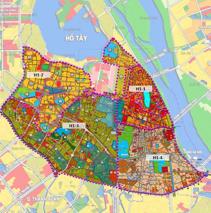 CLIP: Hà Nội công bố quy hoạch 4 quận nội đô lịch sử, 215.000 người cùng hàng chục cơ quan sẽ được di dời - Ảnh 3.