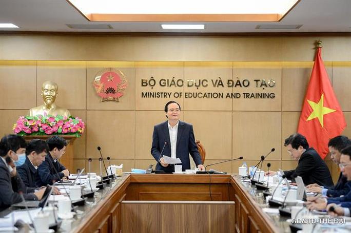 Bộ trưởng Phùng Xuân Nhạ nêu yêu cầu với đề thi tốt nghiệp THPT 2021 - Ảnh 1.