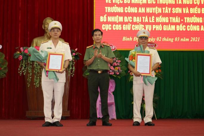 Bình Định có hai tân phó giám đốc Công an tỉnh - Ảnh 1.