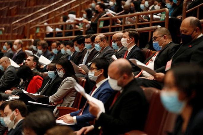 Quốc hội Trung Quốc nhóm họp giữa căng thẳng với Mỹ - Ảnh 1.