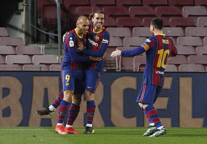 Ngược dòng siêu kịch tính, Barcelona đoạt vé dự chung kết Cúp Nhà vua - Ảnh 8.