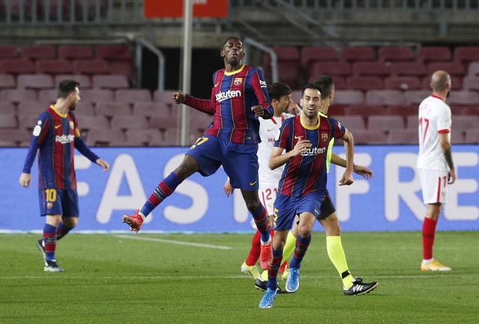 Ngược dòng siêu kịch tính, Barcelona đoạt vé dự chung kết Cúp Nhà vua - Ảnh 3.