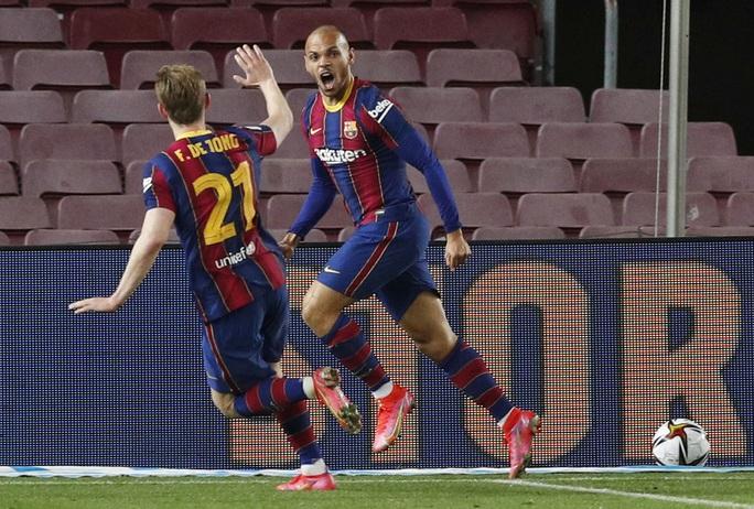 Ngược dòng siêu kịch tính, Barcelona đoạt vé dự chung kết Cúp Nhà vua - Ảnh 7.