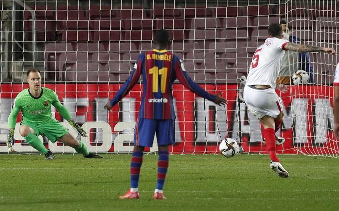 Ngược dòng siêu kịch tính, Barcelona đoạt vé dự chung kết Cúp Nhà vua - Ảnh 4.