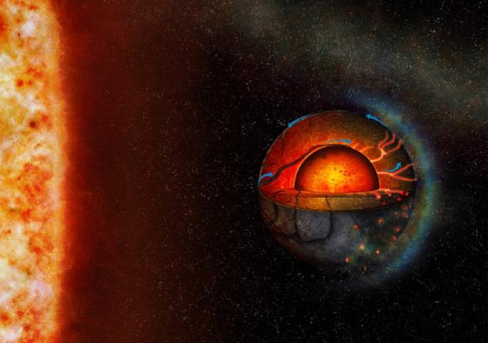Siêu Trái Đất 2 mặt đáng sợ sở hữu thứ giúp địa cầu có sự sống - Ảnh 1.