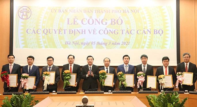 Hà Nội thay đổi một loạt lãnh đạo chủ chốt - Ảnh 1.