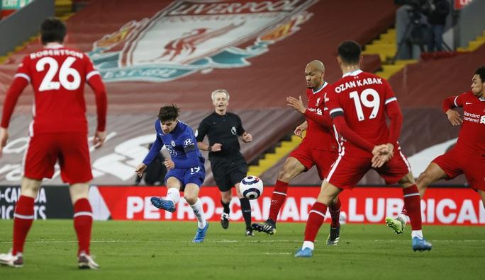 Mason Mount lập siêu phẩm, Liverpool nhận chuỗi thất bại thảm họa - Ảnh 4.