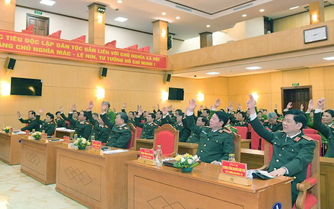 Bộ trưởng Tô Lâm cùng 3 tướng lĩnh, sĩ quan công an được giới thiệu ứng cử đại biểu QH - Ảnh 1.