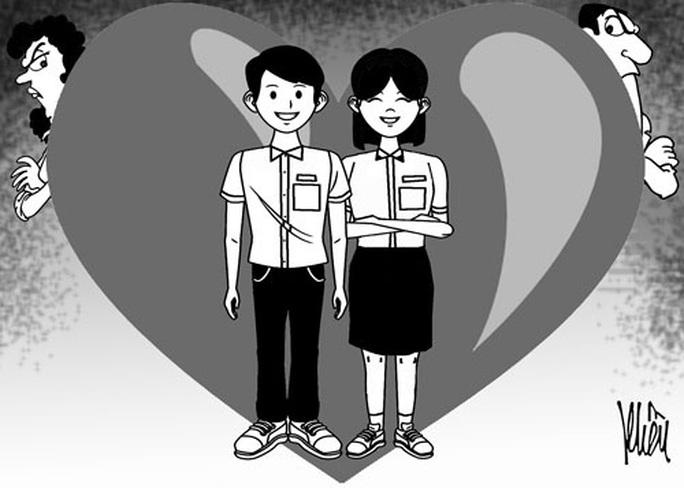 Học sinh yêu sớm: Cấm đoán hay vẽ đường? - Ảnh 1.