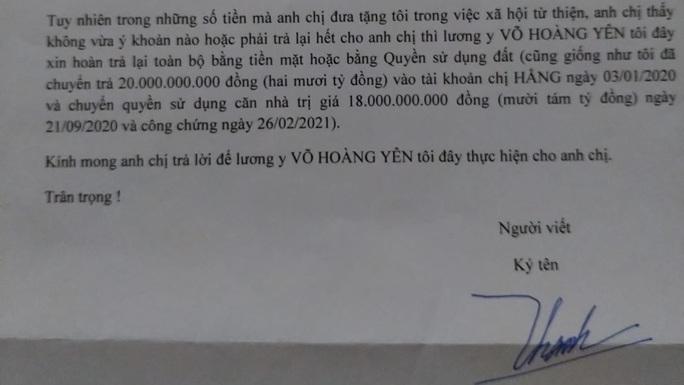 Thần y Võ Hoàng Yên xin trả lại toàn bộ số tiền cho ông Dũng lò vôi? - Ảnh 2.
