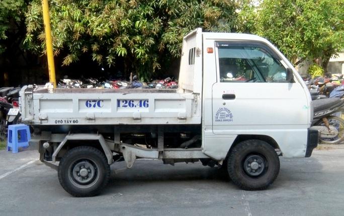 Bắt kẻ tham lam quăng xe máy trộm được để cuỗm xe tải - Ảnh 2.