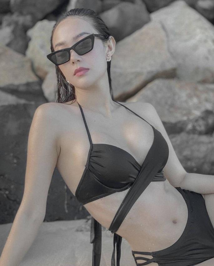 Minh Hằng khoe nhan sắc quyến rũ với bikini - Ảnh 4.