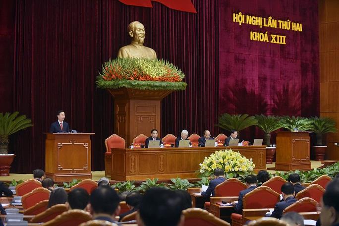 CHÙM ẢNH: Khai mạc Hội nghị Trung ương 2 - Ảnh 9.