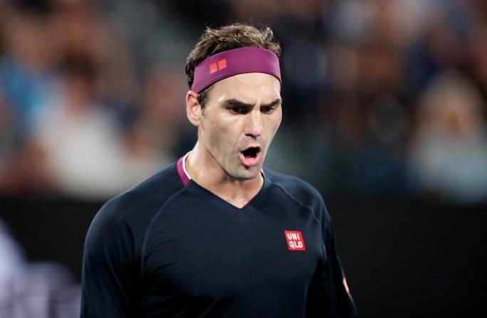 Roger Federer vất vả tại Doha Open 2021 - Ảnh 1.