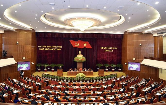 Hội nghị Trung ương 2: Giới thiệu nhân sự cấp cao các cơ quan nhà nước - Ảnh 1.