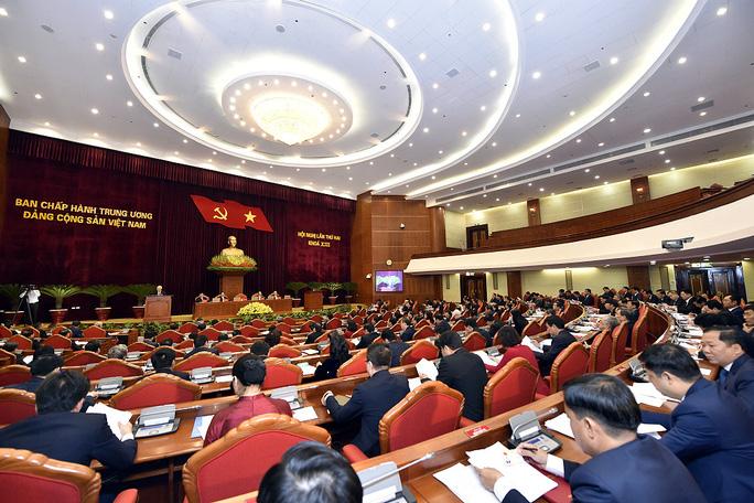 CHÙM ẢNH: Khai mạc Hội nghị Trung ương 2 - Ảnh 3.