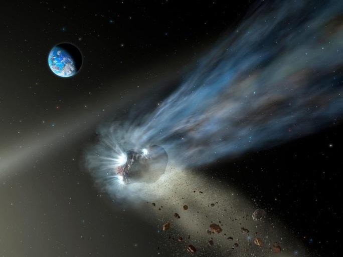 Tim thấy mầm sự sống trên chiếc đuôi của sao chổi ma quái - Ảnh 1.