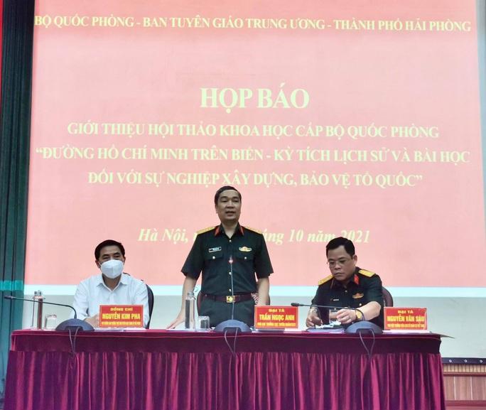 Tổ chức hội thảo khoa học 60 năm ngày mở Đường Hồ Chí Minh trên biển - Ảnh 1.