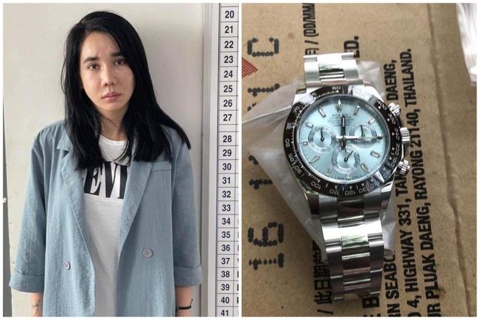 Hoa hậu Lã Kỳ Anh bị bắt vì trộm đồng hồ Rolex ở TP HCM - Ảnh 2.