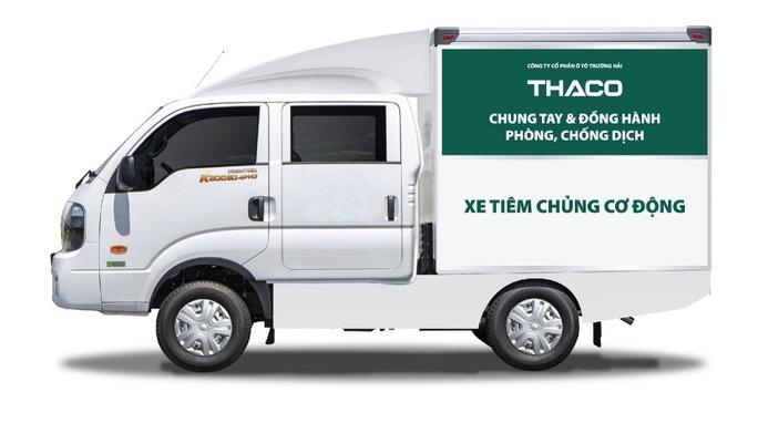 THACO tặng thành phố Hà Nội 300.000 kit test nhanh và 30 xe cứu thương - Ảnh 2.