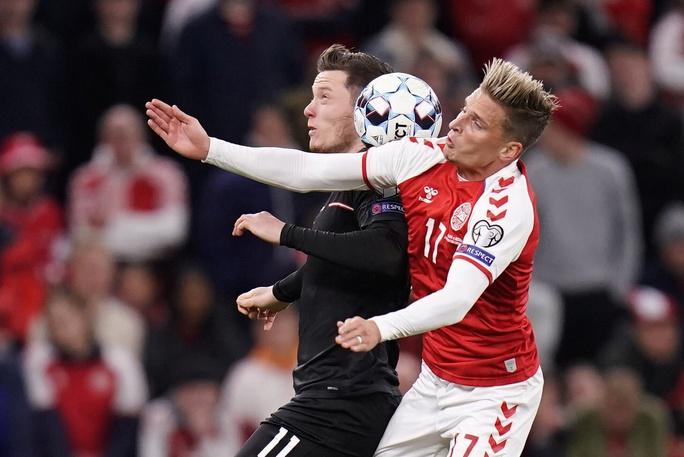 Toàn thắng vòng loại châu Âu, Đan Mạch đoạt vé sớm dự World Cup - Ảnh 1.
