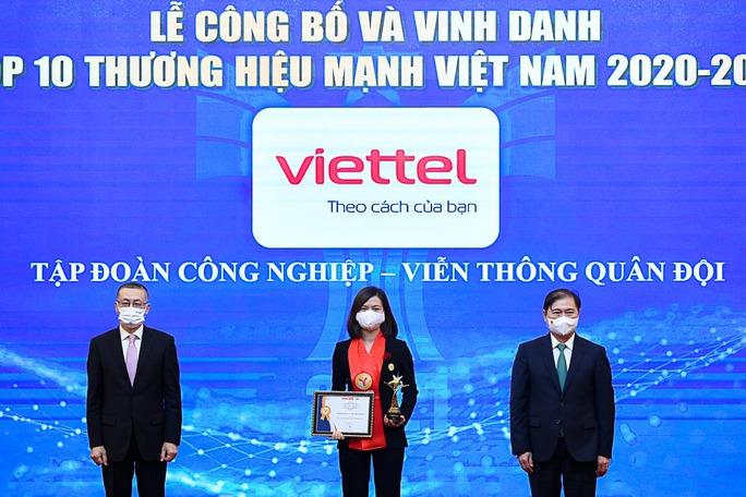 Viettel được công nhận là thương hiệu hàng đầu của Việt Nam - Ảnh 2.