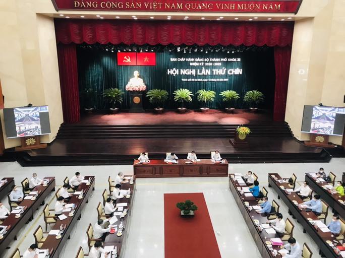 Thành ủy TP HCM họp mở rộng bàn nhiều vấn đề quan trọng - Ảnh 1.