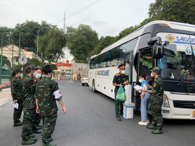 TP HCM tiếp tục tổ chức tour tham quan cho lực lượng tuyến đầu chống dịch Covid-19 - Ảnh 1.