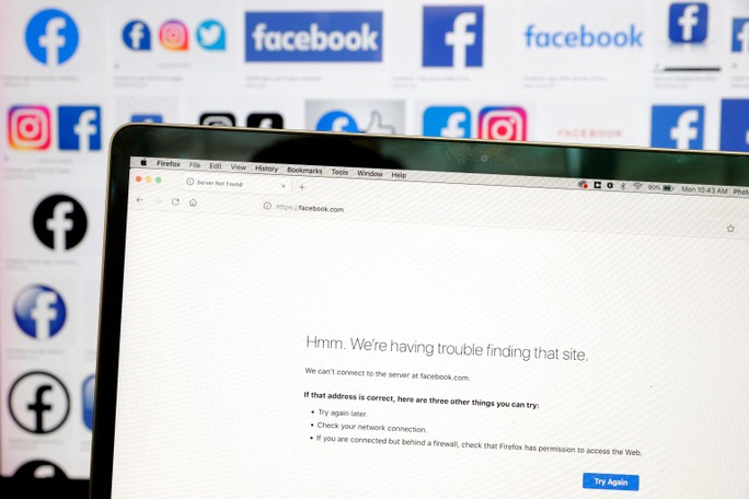 Facebook mất bao nhiêu tiền trong gần 6 giờ ngừng hoạt động? - Ảnh 1.