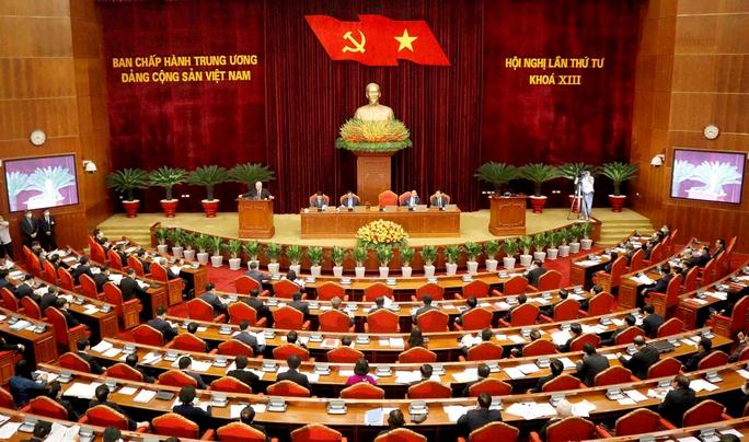 Bế mạc Hội nghị Trung ương 4 - Ảnh 1.