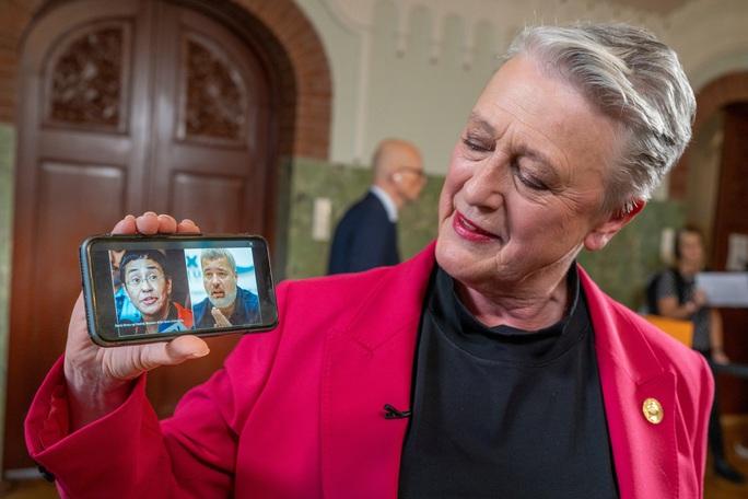 Nobel Hòa bình 2021 trao cho 2 nhà báo - Ảnh 1.