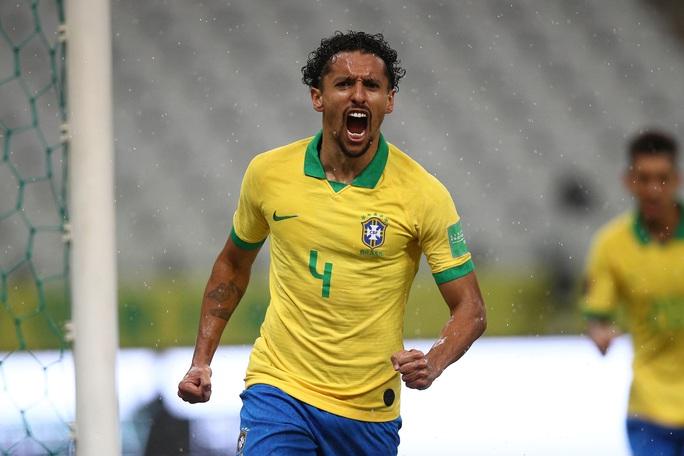 Ngược dòng siêu hạng, Brazil vững ngôi đầu vòng loại World Cup Nam Mỹ - Ảnh 3.