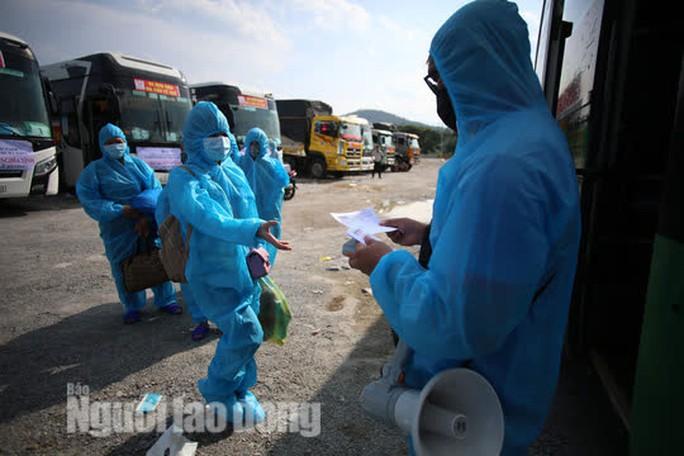 Đà Nẵng có xe khách chở miễn phí người dân từ phía Nam về quê - Ảnh 5.