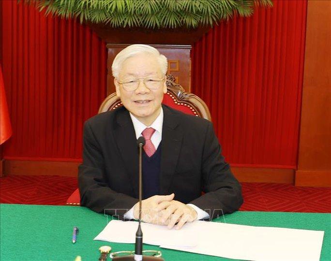 Tổng Bí thư, Chủ tịch nước Nguyễn Phú Trọng điện đàm với Thủ tướng Nhật Bản - Ảnh 2.