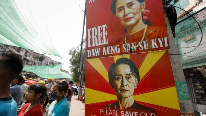 Quân đội Myanmar công bố lời khai cáo buộc bà Suu Kyi tham nhũng - Ảnh 1.