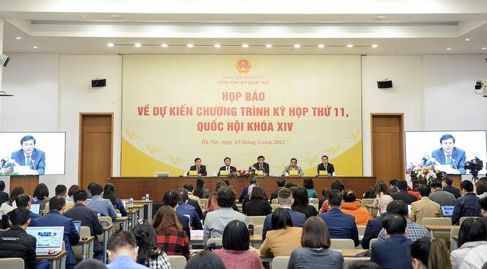 Khai mạc kỳ họp thứ 11 Quốc hội khóa XIV: Kiện toàn các vị trí lãnh đạo chủ chốt - Ảnh 1.