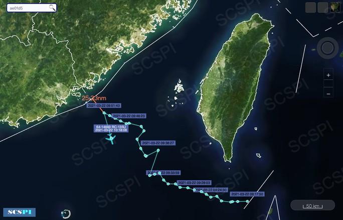 Máy bay do thám Mỹ áp sát, chỉ cách Trung Quốc 25 hải lý - Ảnh 1.