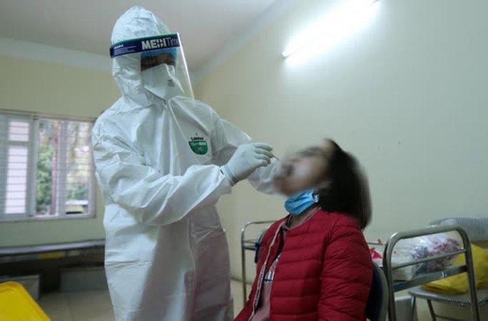 Hà Nội phát hiện 1 người thường xuyên ở nhà, không đi đâu xa dương tính SARS-CoV-2 - Ảnh 1.