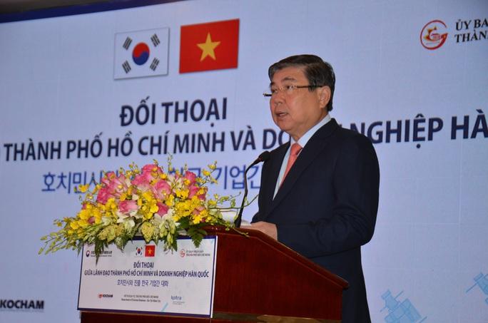 Nhà đầu tư Hàn Quốc nêu những khó khăn, vướng mắc khi làm ăn ở TP HCM - Ảnh 1.