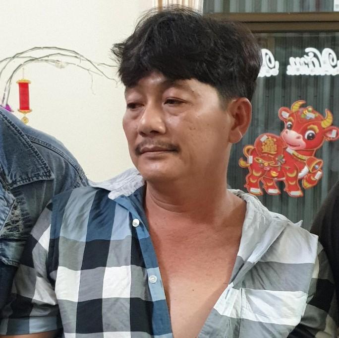 Bắt kẻ cầm đầu vụ đốt nhà đội trưởng cảnh sát hình sự - Ảnh 1.