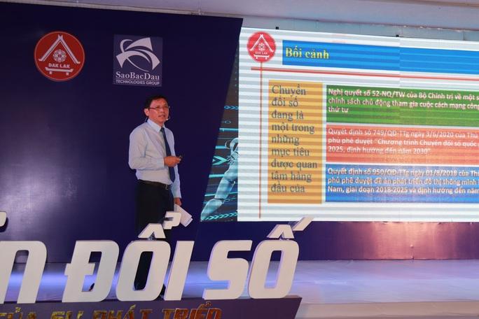 Đắk Lắk đầu tư 300 tỉ đồng thực hiện đề án chuyển đổi số - Ảnh 4.