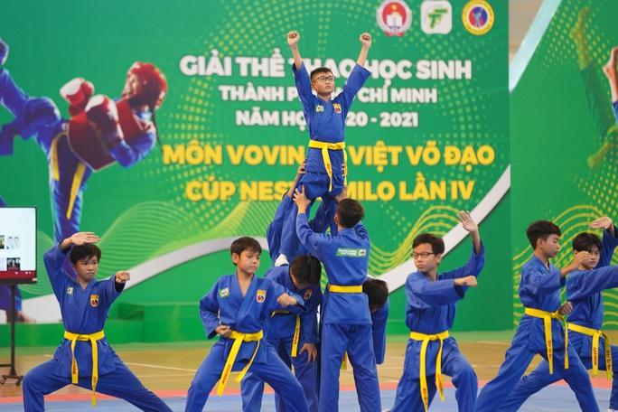 Khai mạc giải Vovinam học sinh TP HCM 2021 - Ảnh 1.