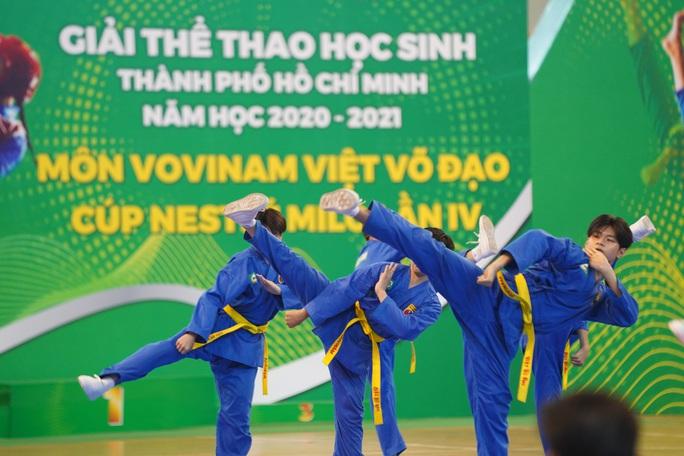 Khai mạc giải Vovinam học sinh TP HCM 2021 - Ảnh 2.